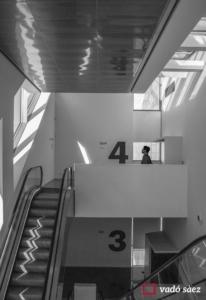 Interior del Centre de Disseny de Barcelona